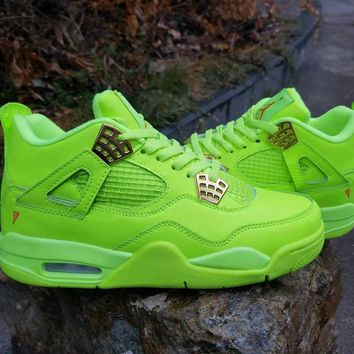 "Air Jordan  4 Retro ""Fluorescent Green"""