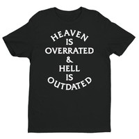 Heaven & Hell  - Short Sleeve T-shirt - Black