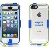 Griffin GB36203 Survivor Waterproof and Catalyst for iPhone 5 - Retail Packaging - Blue