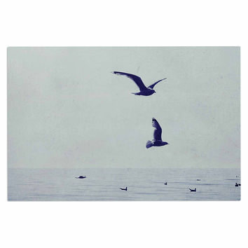 """Chelsea Victoria """"Two If By Sea"""" Nautical Photography Decorative Door Mat"""