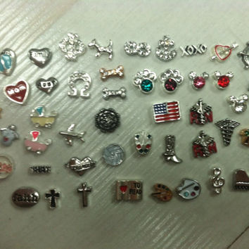 FLOATING CHARMS for Origami Owl lockets