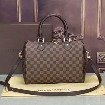 LV Fashion Leather Luggage Travel Bag large capacity Tote Handbag H-LLBPFSH