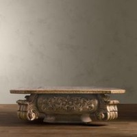 Baroque Capital Coffee Table | Coffee Tables | Restoration Hardware