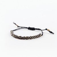 Black Friendship Bracelet