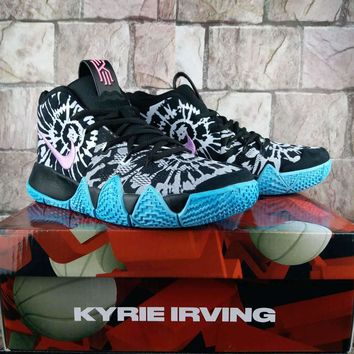 "Nike Kyrie 4 ""Tie Dye"" Women Men Basketball Shoe"