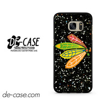 Chicago Blackhawks On Sparkle DEAL-2558 Samsung Phonecase Cover For Samsung Galaxy S7 / S7 Edge