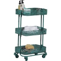 Metal Three Tier Cart, Mulitple Colors - Walmart.com