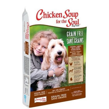 CHICKEN SOUP DOG DRY - CHICKEN SOUP GRAIN FREE CHICKEN/TURKEY/PEA - 4LB - Chicken Soup For The Soul, Pet - UPC: 74198612529 - DEPT: OTHER PET FOODS