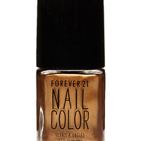 FOREVER 21 Metallic Bronze Nail Polish Gold One