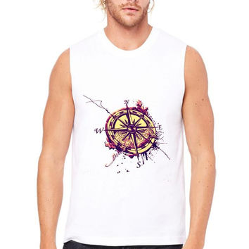 Compass Muscle Tank