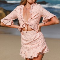 Watson Bay Dress-Pink