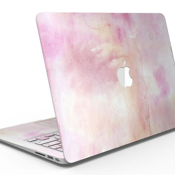 Pink 42 Absorbed Watercolor Texture - MacBook Air Skin Kit