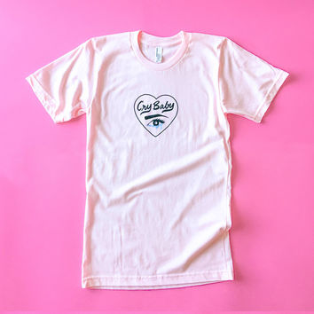 Cry Baby Tee - Size S