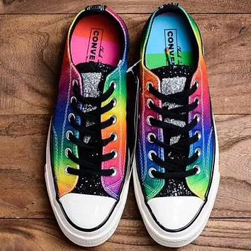 "Trendsetter Converse 2019 ""Pride Women Fashion Casual Low-Top Old Skool Shoes"