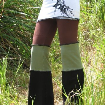 Yoga Pants With Skirt by HerbanDevi on Etsy