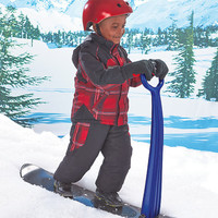 Kids Snowboard Snow Sled Scooter