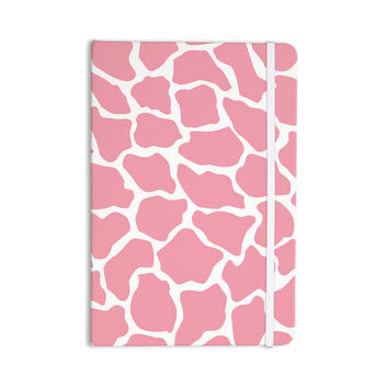 "Wildlife ""Pink Animal Print 11"" White Digital Everything Notebook"
