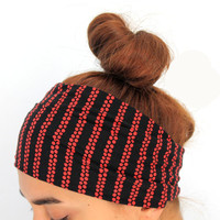 red-black headbands,yoga hairband, headbands,Pilates headbands,headbands,yoga headbands