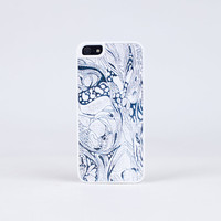 iPhone Case in Modern Swirl