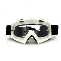 Adult Colourful double Lens Snow Ski Snowboard Goggles Motocross Anti-Fog Fashion Eye Protection White Lucency