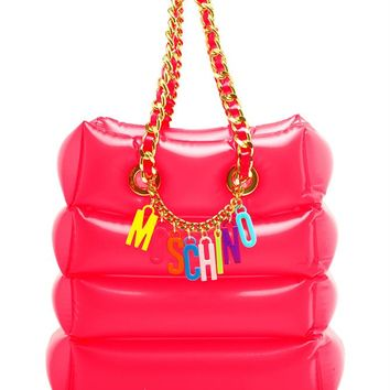 Inflatable Shoulder Bag - MOSCHINO