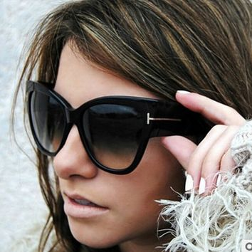 New Fashion Big Box Sunglasses  Cat's Eye Sunglasses