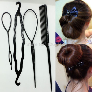 Newest Hair Combs Women hair accessory Synchronized pull hair pin wear hair sticks