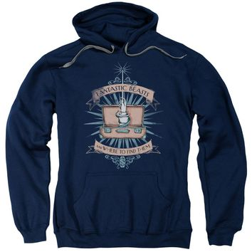 Fantastic Beasts - Briefcase Adult Pull Over Hoodie Officially Licensed Apparel