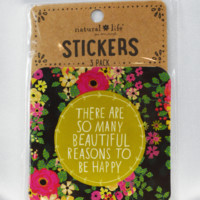 beautiful reasons stickers