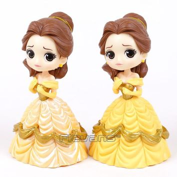 Q posket Beauty and the Beast Belle PVC Figure Model Toy Princess Doll Gift for Girls 13cm