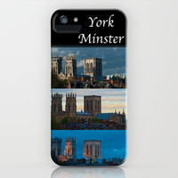 York Minster Triptych iPhone & iPod Case by Karl Wilson Photography