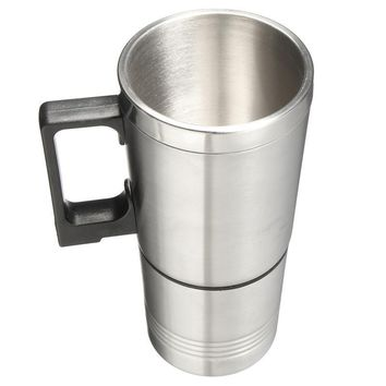 Stainless Steel Heated Electric Cup Mug