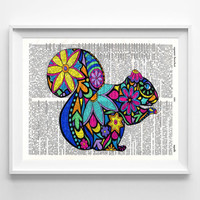 Squirrel Wall Art - Home Decor