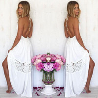 White Willow Dress