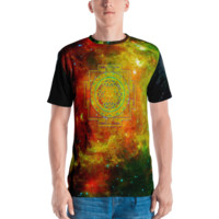 Rainbow Star Lord Yantra || Men's T-shirt - Live In Love