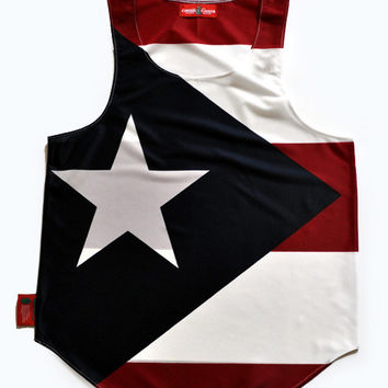 Puerto Rico Flag Tank Top