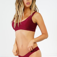 Denise Bikini Set - Red