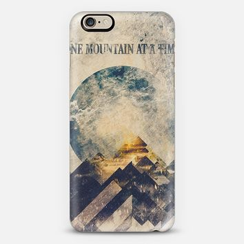 One mountain at a time iPhone 6 case by Happy Melvin | Casetify