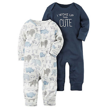 Baby Boy Carter's 2-pk. Animal