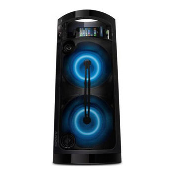 Sony - 420W Portable Party Speaker System with Apple iPod and iPhone Dock