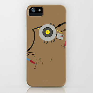 Glados Potato - Portal 2 iPhone & iPod Case by Adrian Mentus
