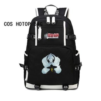 Anime Backpack School Fullmetal Alchemist Backpacks women men  Teenages Shoulder Bag Students School bag Printing Rucksack 13 style AT_60_4