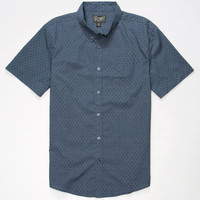 Retrofit Dean Mens Shirt Blue  In Sizes