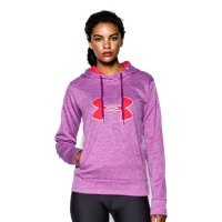 Under Armour Women's UA Big Logo Applique Twist Hoodie