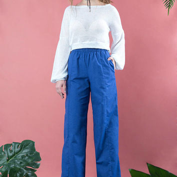 Mom jeans, sweat pant jeans, wide leg jeans, summer jeans, loose pants, wide leg pants, loose jeans