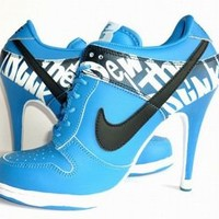 cheap blue nike dunks low heels online on sale