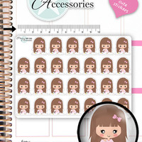 Manicure Stickers Nail Polish Planner Stickers Beauty Stickers Cute Stickers Erin Condren Functional Stickers Kawaii Stickers NR1363