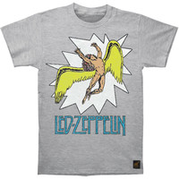 Led Zeppelin Men's  Icarus Comic Vintage T-shirt Heather Rockabilia