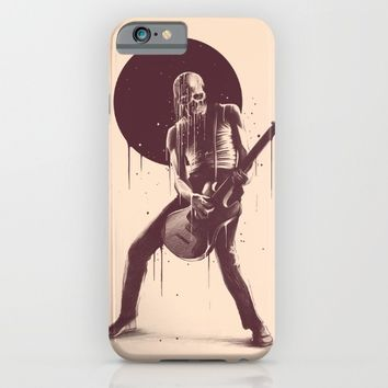 Face Melting iPhone & iPod Case by Kyle Cobban