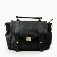 EAST SIDE SATCHEL IN BLACK